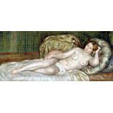 Lienzo Tela Pierre Auguste Renoir Desnudo Mujer 50 X 90 Arte