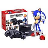 Sega Genesis Retro, 80 Juegos Incluidos, Mortal Kombat,sonic