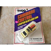Autos Tyco Lighted Slotless Car Mustang Turbo