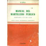 Manual Del Martillero Publico - Lapa Dyf