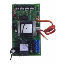 Placa Central Universal Para Motor Portão Eletrônico 433mhz