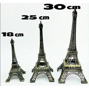 Torre Eiffel 18 Cm - Adorno Fiestas, 15 Años, Bodas, Etc