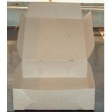 Cajas Pizza /empanadas 23*25*7.5 Micro M/m X 100 Lisas