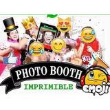 Kit Imprimible Para Tu Fiesta De Photo Booth