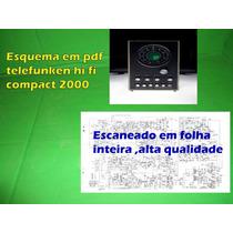 Esquema Em Pdf Telefunken Hi Fi Compact 2000