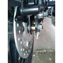 Sistema De Freio Traseiro Disco Biz100 125 Pop110 / 100 2pc