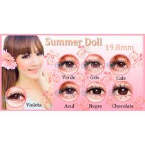 Big Eyes, Circle Lens Summer Doll 19.8mm 365 Dias De Uso!