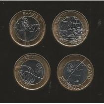 C. De 4 Monedas De Brasil Olimpiadas De Río 2016 Serie 2