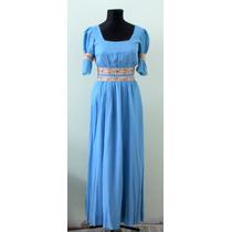 Vestido Vintage Vestuario Con Detalles Floreados Envios