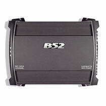 Potencia B52 P/auto Rc1404 1400w 4 Canales P/driver Woofer -