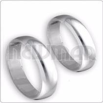 Alianzas De Plata 925 Italianas 4mm, Compromiso - Casamiento