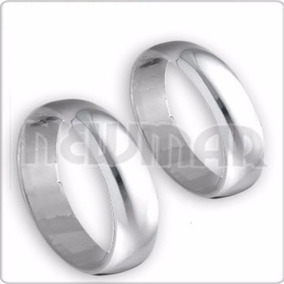 Alianza Plata 900 Italianas 4mm, C/u Compromiso Casamiento
