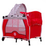Cuna Y Corral 2 En 1 Media Carpa Doble Nivel Fisher Price
