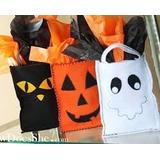Calabazas Halloween En Paño Lency