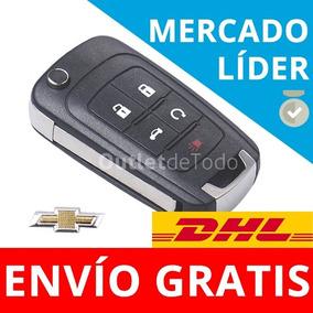 Carcasa Llave Control Autos Chevrolet 5 Botones Camaro Cruze