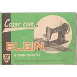Manual Maquina De Costura Elgin