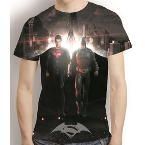 Camisa Filme Camiseta Batman Vs Superman - Estampa Total