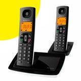 Teléfono Inalámbrico Alcatel Versatis E100 Doble Handie Dect