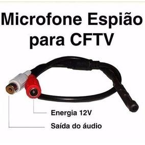 Microfone Para Dvr Espiao Mini Microfone Microfone Escondido