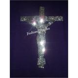 Franelas Cristianas Xl Con Cruz -pedreria -cristal