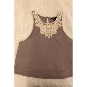 Remera Musculosa Forever 21. Talle M.