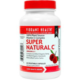 Vibrant Health - Super Natural C - 100% Plant Source Vita