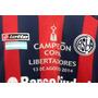 Estampado San Lorenzo Campeon Libertadores 2014 Lotto