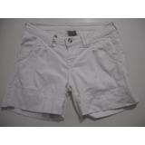 Shorts Curto Branco Planet Girls Tam 36 Bom Estado