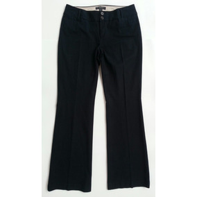 Pantalon De Vestir Casual Dama Azul Oscuro Importado Talla 6