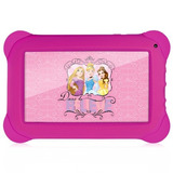 Tablet Infantil Disney Princesas Quad Core 8gb Wifi Tela 7
