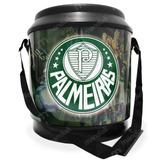 Cooler Com Alça Para 24 Latas Estampa Palmeiras