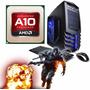 Pc Gamer Amd A10-7860k 12 Nucleos 1tb 8gb Jugá Gta V - Lol