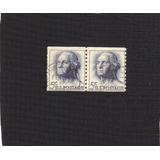 Estampillas De George Washington De 5 Centavos