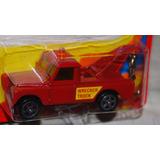 Corgi Juniors Camioneta Grúa Roja Land Rover Única En Chile!
