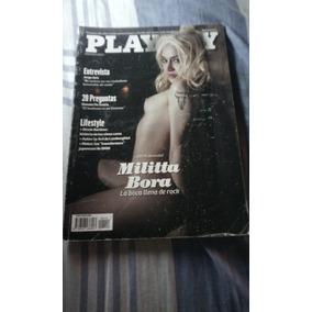 Revista Playboy N°114 Militta Bora