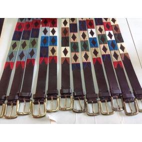 Cinturon Cuero Cuyano Rombo / Bauldeaperos