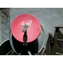 Antena Fta Parabolica Dishsatelital Con Lnb Integrado Hd Iks