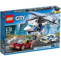 Lego City 60138 Carro E Helicóptero Polícia - Pronta Entrega