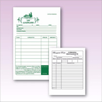 Papel Autocopiante Mil O/1c 1/4 Notas Remision Envio Gratis