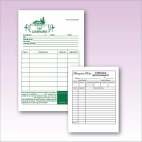 Notas De Remision Mil 1/4 De Carta Autocopiante Envio Gratis