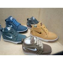Semi Botín Nike Jordán Para Niños