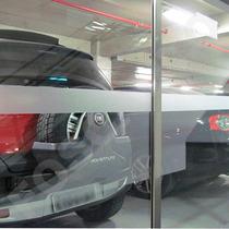 4 Faixas Adesivo Jateado Sinalização Porta Vidro - 1m X 10cm
