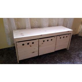 Mueble Organizador Infantil Bajo Ll