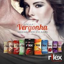 Caixa Preservativos Rilex,sortidos Com 48un,kit Atacado