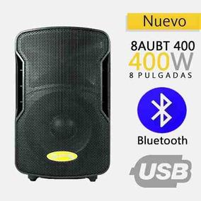 Corneta Amplificada Sps Audio 8aubt 400 Watts Bluetooth Usb