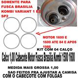 Calco 1,00 Cabecote Motor Fusca Brasilia Kombi 1500 1600