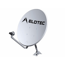 Antena 60cm Ku C/ Kit De Fixação (caixa Com 5 Peças)