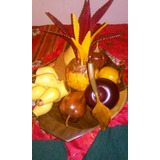 Centro De Mesa Comedor Frutas....