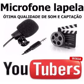Microfone De Lapela Para Celular - Microfone Mercado Livre