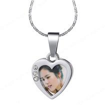 Collar Relicario Corazón Foto Novio Pareja O Imagen Favorita